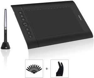 Huion's H610PRO V2 Drawing Tablet