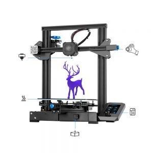 Creality Ender 3 V2 Upgrade Version 3D Printer