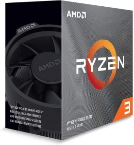 AMD Ryzen 3 3100 4-Core