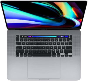 Apple 16-Inch MacBook Pro with Touch Bar - 9th-Gen 8-Core Intel i9, 1TB SSD