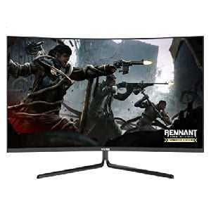 VIOTEK GNV32DB 32-Inch Curved Gaming Monitor | 144Hz WQHD 2560 x 1440p | G-Sync-Ready FreeSync with LFC | 3X HDMI DP Audio Out | 3-Year Warranty + Zero-Tolerance Dead Pixel Policy (VESA)