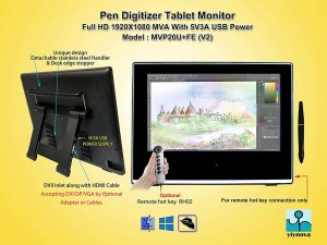 Yiynova MVP20U+FE(V2) Full HD Tablet Monitor